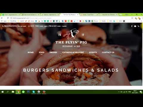 My WordPress Professional Development websites short demonstration