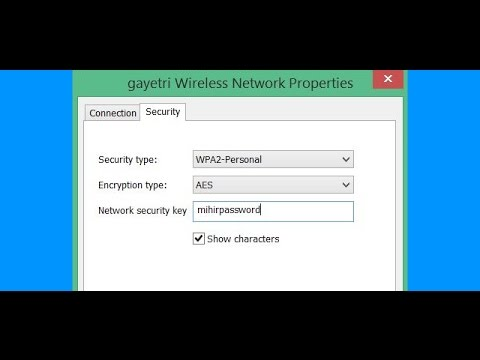 how to find your wifi password in Computer ! network properties