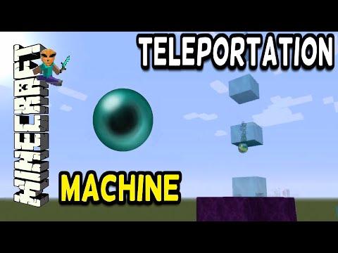Minecraft: Teleportation Machine!!!! ( Tutorial ) TU39 -  PS3 / PS4 / Xbox - HOW TO