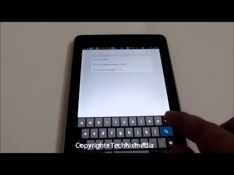 Gesture Typing On Android 4.2 Finger Swipe on On Screen Keyboard