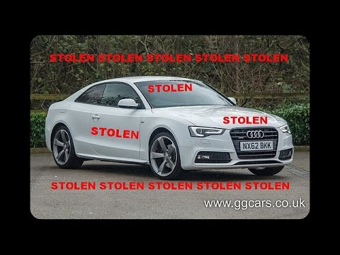 STOLEN FROM PRESTON PLEASE LIKE &  SHARE 2012 62 AUDI A5 2 0 TDI Quattro Black Edition S Line,