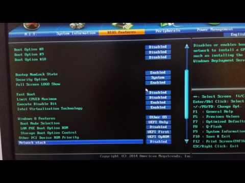 100% Working High Sierra Hackintosh Bios Settings    All Chipsets   UEFI