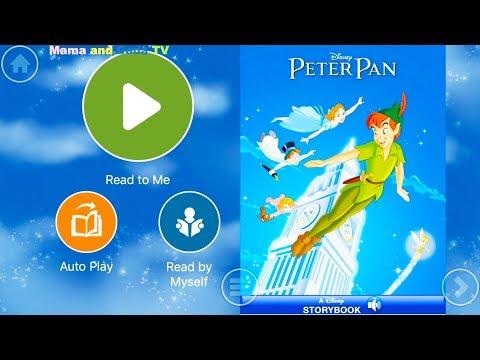Walt Disney Pictures Presents Classics Peter Pan - Audio Read Aloud Bedtime Storybook for Kids