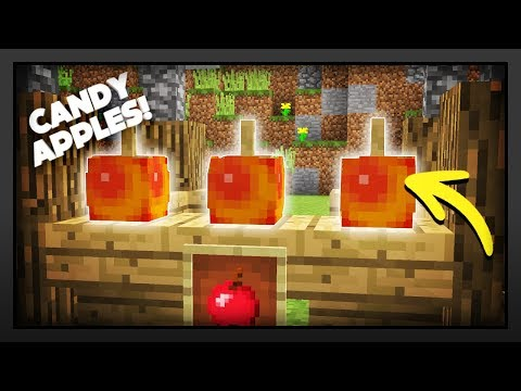 Minecraft - How To Make Candy Apples