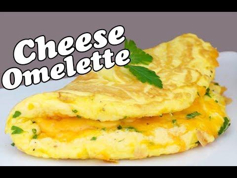 Cheesy Vegetable Omelette - Cheesiest Omelette Ever