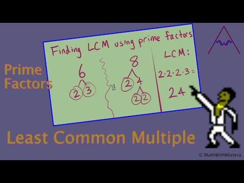 The Least Common Multiple (LCM) -- Part 1 of 2