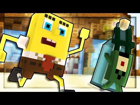 Minecraft SpongeBob - PLANKTON STEALS SECRET FORMULA! (Minecraft Roleplay) #4