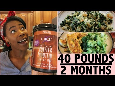 HOW I LOST 40 POUNDS IN 2 MONTHS | Full Day of Eating (reupload)
