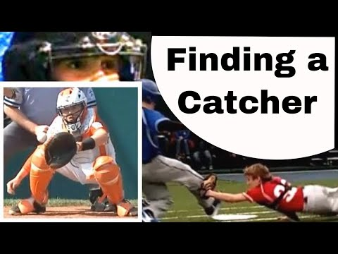Drafting a great catcher for youth baseball team. Little League draft advice.