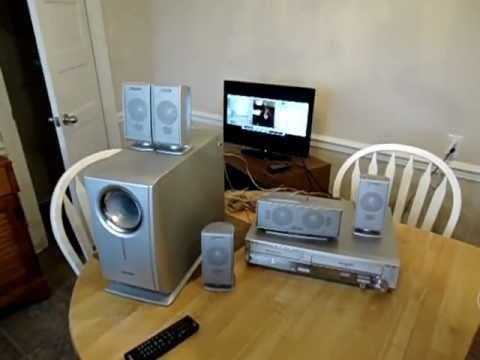 Panasonic DVD/VHS Surround Sound System