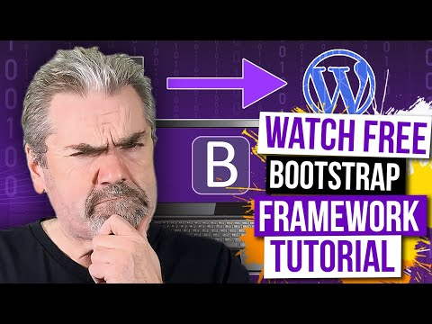 Sample Course Training - Learning Bootstrap - From HTML to Wordpress Theme on Udemy - Official