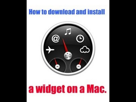 How to install widgets