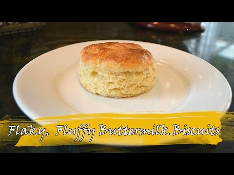 Home Made, Flaky and Fluffy Buttermilk Biscuits