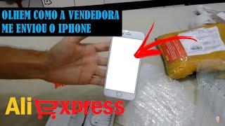 comprei um iphone 6 no Aliexpress. Vejam como chegou