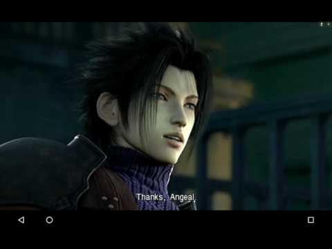 Final Fantasy 7 Crisis Core (ppsspp emulator)  (Nvidia Shield Tablet)