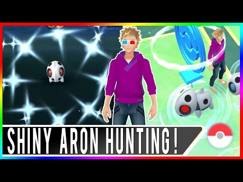OMG WE CAUGHT SHINY ARON! BEST SHINY NEST IN SAN FRANCISCO! NEST ROTATION TODAY!