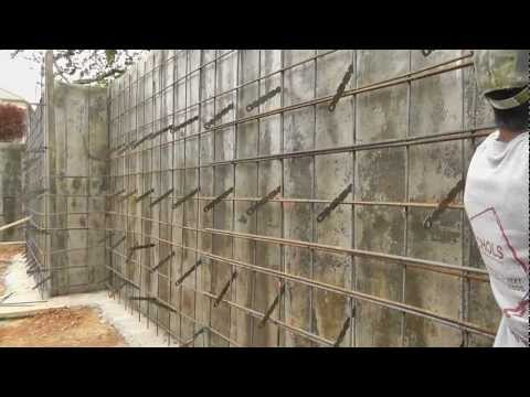 Missionary Ridge Home - Vlog #7 - Forming for Concrete Walls