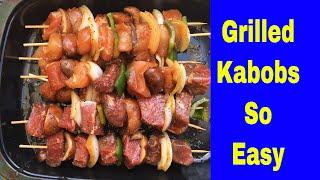 Easy Kabob Marinade Recipe