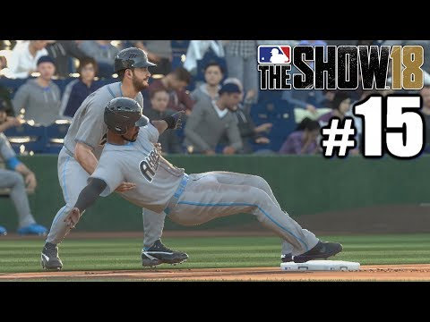 TRUST FALL WITH MY THIRD BASE COACH! | MLB The Show 18 | Road to the Show #15