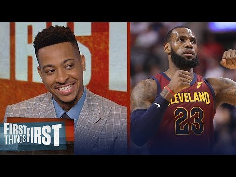 Blazer's C.J. McCollum on how LeBron's Cavs have dominated Raptors | NBA | FIRST THINGS FIRST