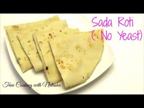 How to make Sada Roti   No Yeast - Episode 329