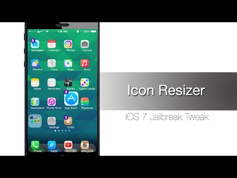 Icon Resizer allows you to change individual icon sizes - iPhone Hacks