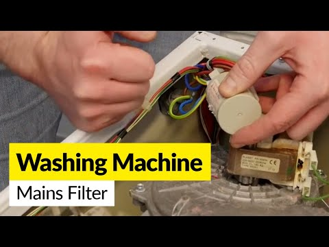How to Fix a Faulty Washing Machine Mains Filter