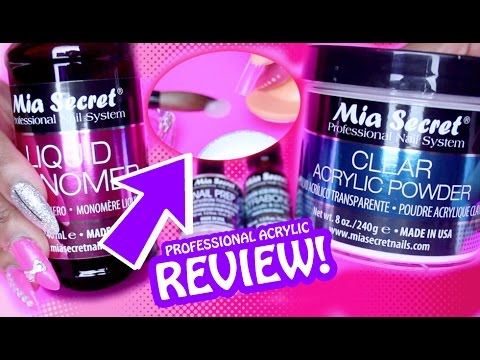 Mia Secret Pro Acrylic REVIEW & Test!