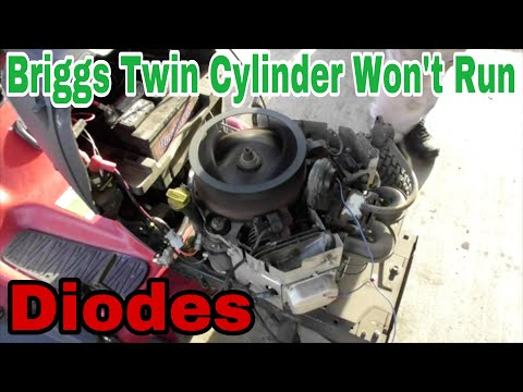 Xxx Mp4 Troubleshooting Briggs Twin Cylinder Engine Won 39 T Run Diodes With Taryl 3gp Sex