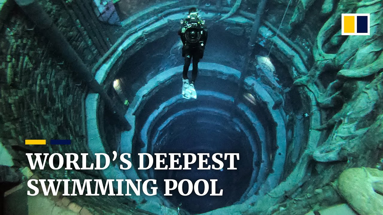 World's deepest pool with a 'sunken city' opens in Dubai
