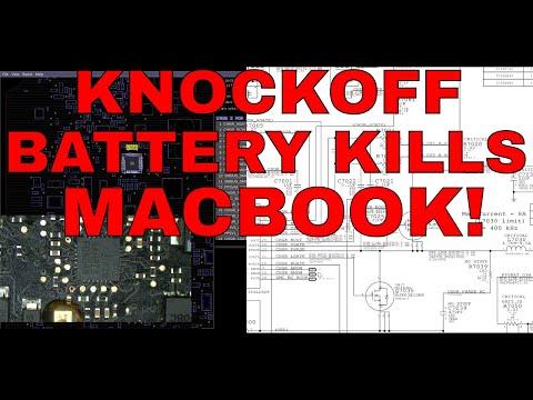 How cheap eBay batteries DESTROY Macbook logic boards!