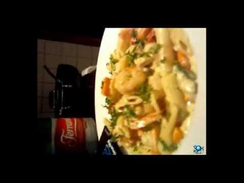 Shrimp Pasta In Alfredo & Philadelphia Cream Cheese Sauce (Antigua) Chef G.