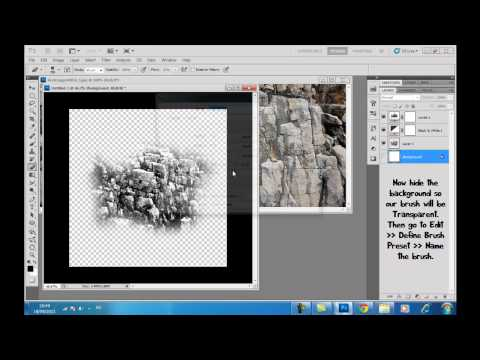 How to create your own texture Brush in Photoshop