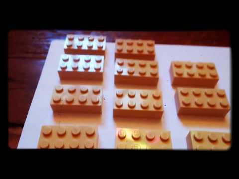 How to make a Lego pyramid🍉