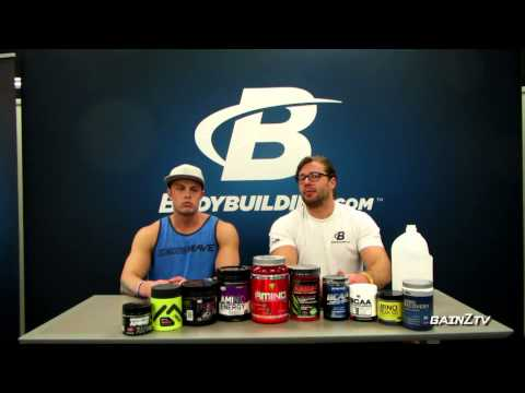 Branched Chain Amino Acid Supplements (BCAA's)