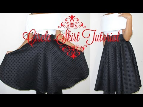 Beginner Sewing: DIY Circle Skirt with Zipper Installation