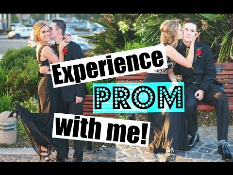 Experience Prom 2016 With Me! (GRWM, Pictures & Dinner)