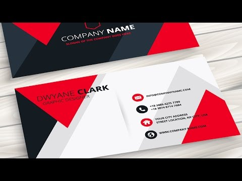 Creating a Professional Business Card without any hassle - Coreldraw Tutorials