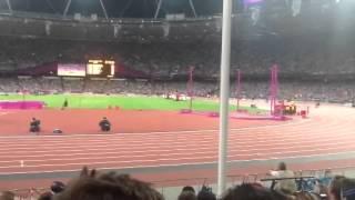 London 2012 1500 Meter Final Lap Paralympic