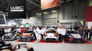2018 WRC Season Launch @ Autosport International Show