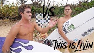 KOA ROTHMAN vs MAKUA ROTHMAN Surf off!