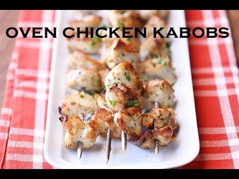 Oven Chicken Kabobs