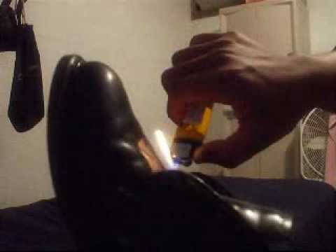 How To Shine Shoes Fire Method