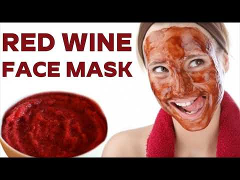 Make Your Face Beautiful With Red Wine - How To Prepare Red Wine Face Mask At Home