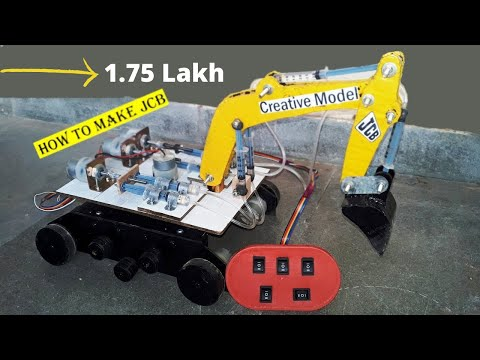 How to Make a Remote Control JCB Home Made @@ chintan panchal