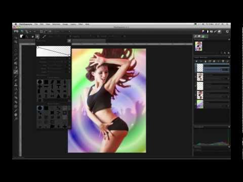 How to create a party flyer or brochure with PaintSupreme