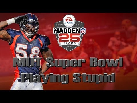 Madden 25 Ultimate Team | MUT Super Bowl [Playing Stupid]