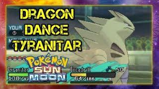 Pokemon VGC 2017 In it to Wingett #89 Dragon Dance Tyranitar