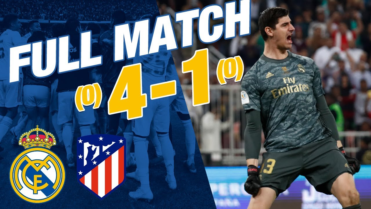 FULL MATCH | Real Madrid 0-0 Atlético (4-1 penalties) | Spanish Super Cup 2019/20 final