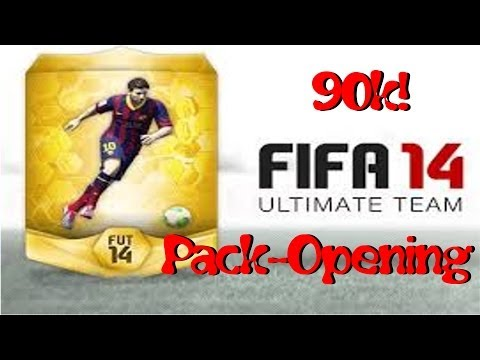 FIFA 14 // 90k Pack Opening PS3 (Luck?) | Pack Opening #1